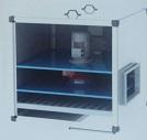 kaset tip metal filtreli direkt akuple moturlu seyrek kanatlı tek emişli radyal fanlı hücreli fan