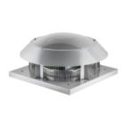 Yatay atışlı radyal çatı fanı