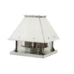 Yatay atışlı radyal çatı fanı-Motor akımının dışında