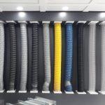 esnek flexible havalandırma kanalı